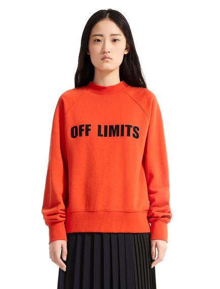 Felpa in cotone Off Limits