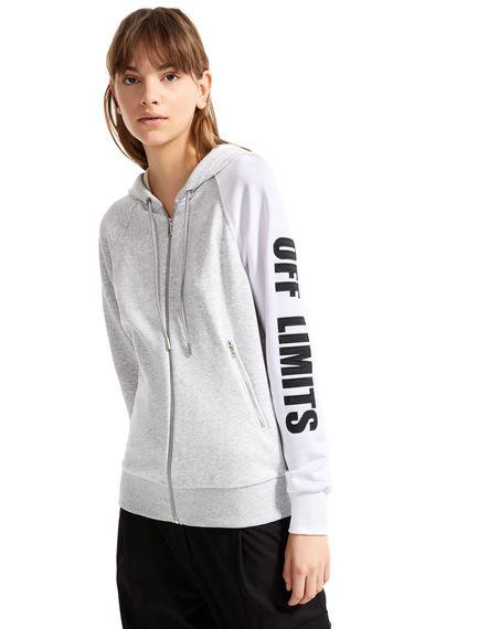 Felpa hoodie Off Limits Sportmax