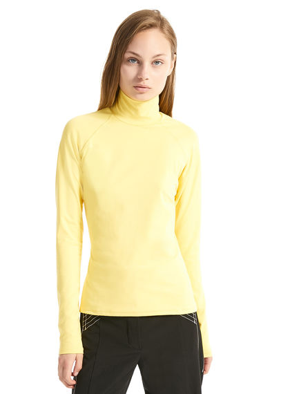 Polo Neck Jersey Sweater