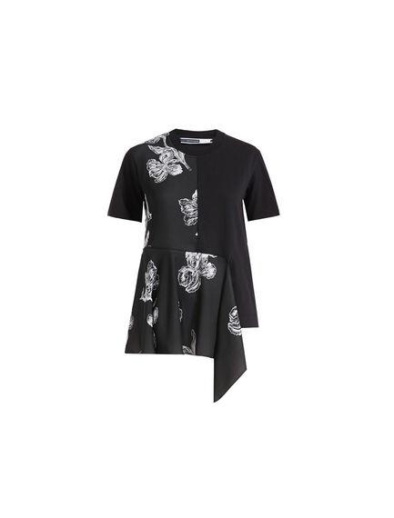 Sportmax Code Iris Jacquard T-shirt