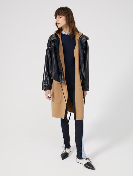 Hooded Wool & Cashmere Coat Sportmax