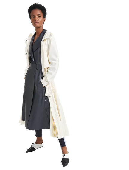 Pleat Fusion Raincoat
