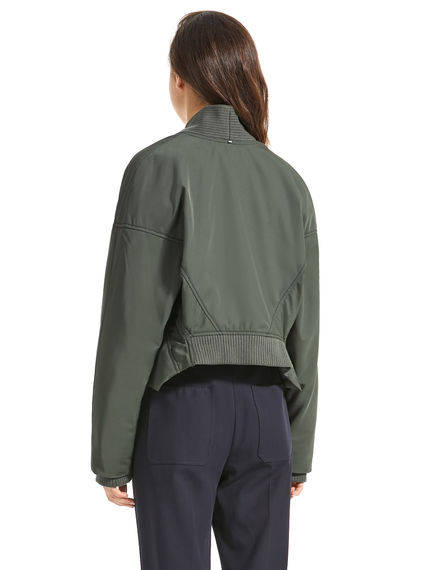 Reverse-Effect Cropped Jacket Sportmax