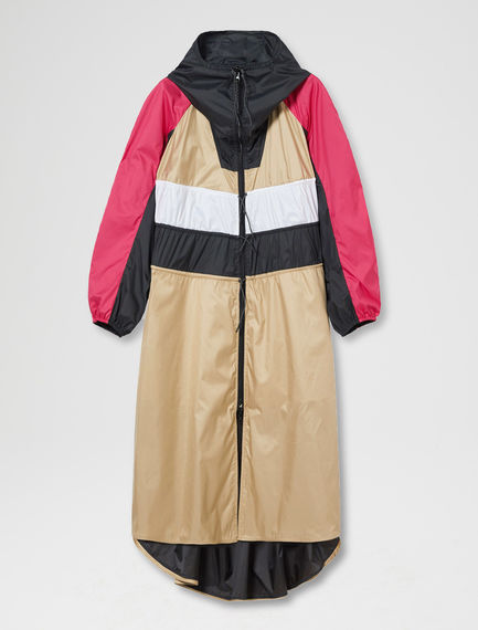 Reversible Waterproof Trench Coat