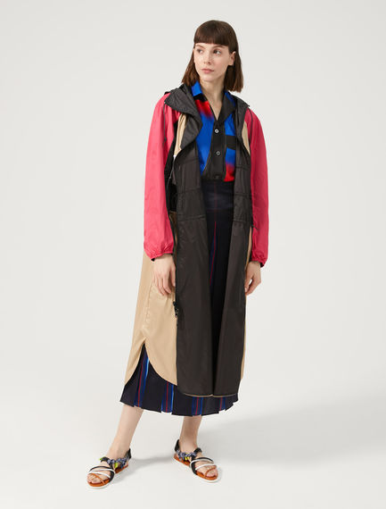 Reversible Waterproof Trench Coat Sportmax