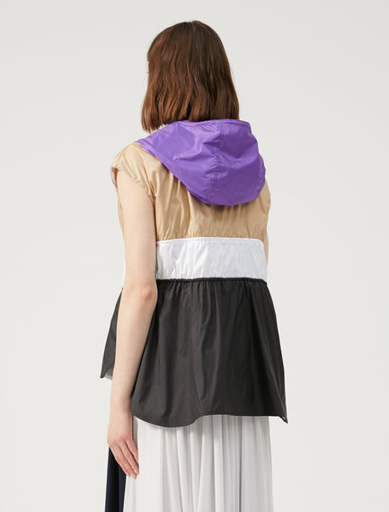 Reversible Track-Style Gilet