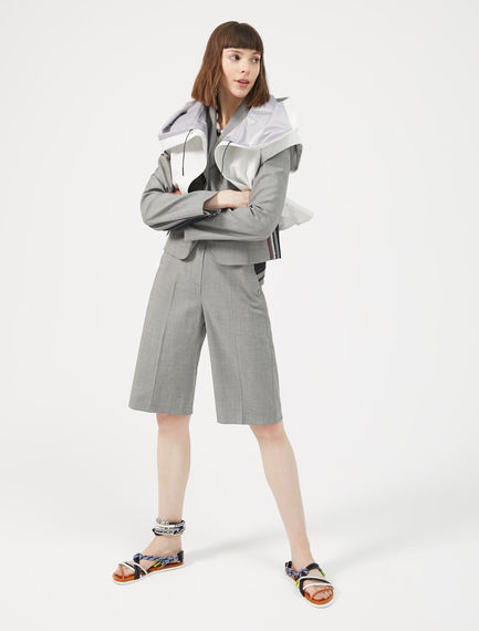 Cropped Waterproof Bomber Sportmax
