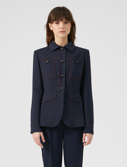 Flowing Button-front Jacket Sportmax