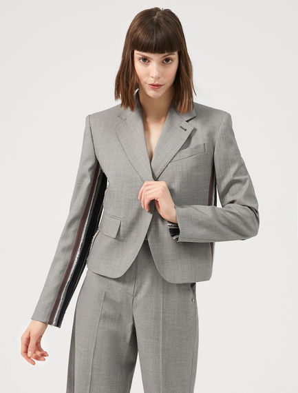 Fabric Banded Blazer Sportmax