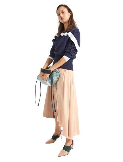 Shape-Shifting Asymmetric Skirt