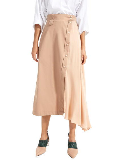 Shape-Shifting Asymmetric Skirt Sportmax