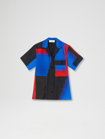 Block Colour Boxy Shirt