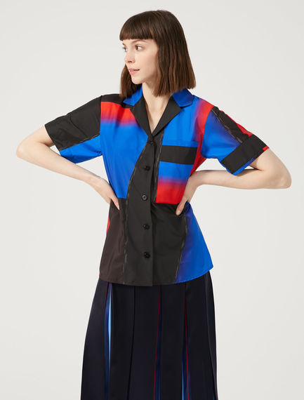 Block Colour Boxy Shirt Sportmax