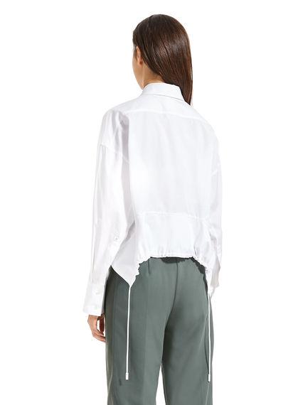 Drawstring-back Shirt