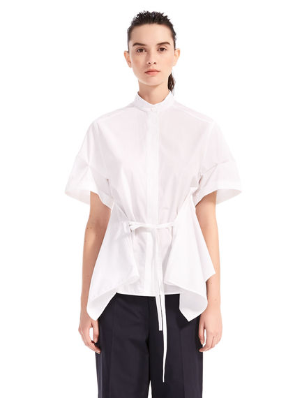 Short-Sleeve Poplin Shirt
