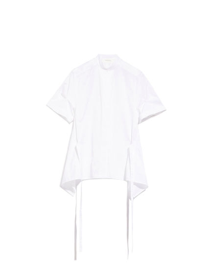 Short-Sleeve Poplin Shirt Sportmax