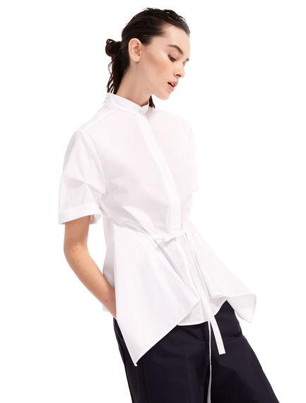 Camicia in popeline con maniche corte Sportmax