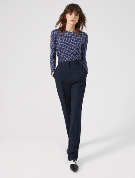 Pantaloni in viscosa stretch Sportmax