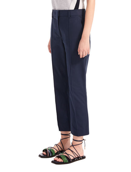 Kick-Flare Cigarette Trousers