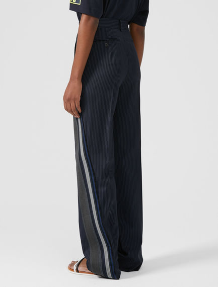 Track-Band Tailored Trousers