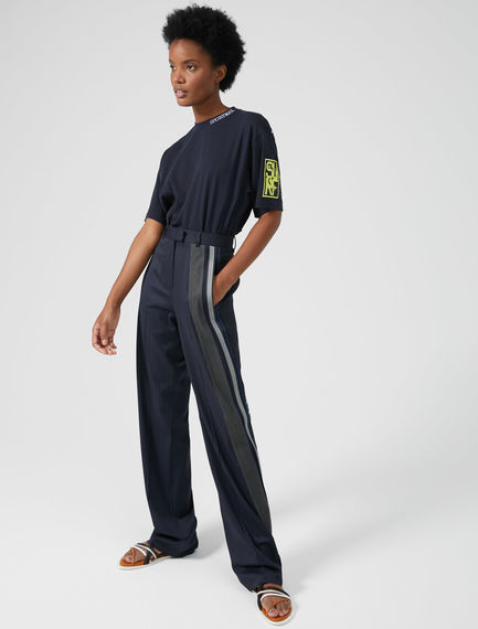 Track-Band Tailored Trousers Sportmax