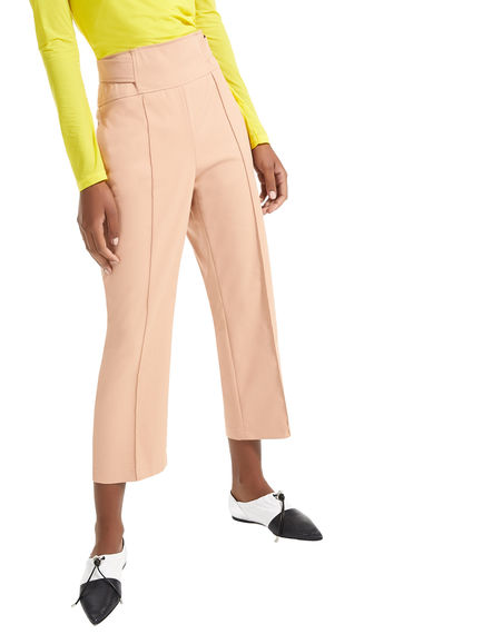 Reverse Belt Cropped Trousers Sportmax
