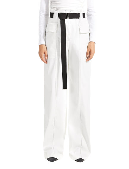 Utility-Style Cotton Trousers