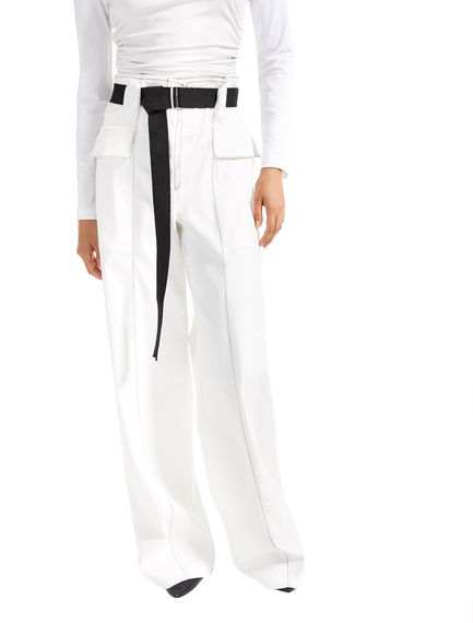 Utility-Style Cotton Trousers Sportmax