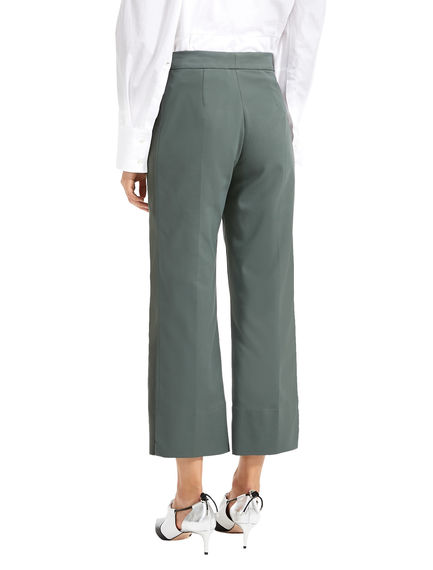 Cropped Tailored Trousers