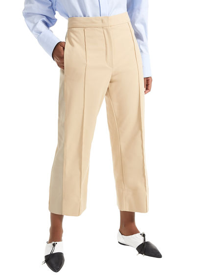 Cropped Tailored Trousers Sportmax
