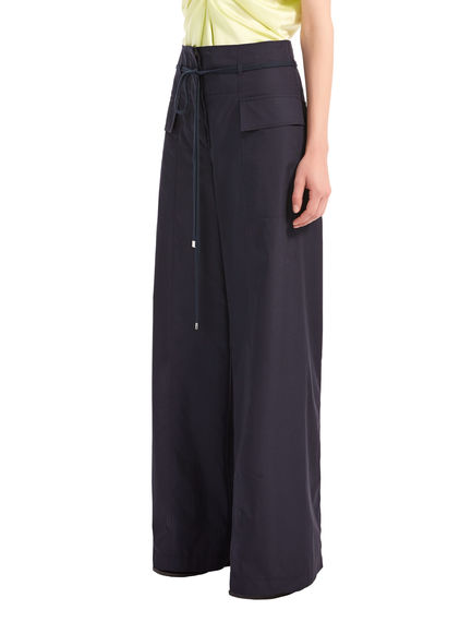 Paper bag-Waist Poplin TrousersPaper bag-Waist Poplin TrousersPaper bag-Waist Poplin TrousersPaper bag-Waist Poplin TrousersPaper bag-Waist Poplin TrousersPaper bag-Waist Poplin Trousers Sportmax