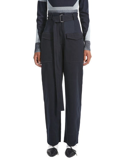 Workwear-inspired Trousers