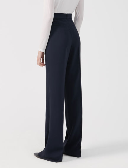 Sartorial Viscose Trousers