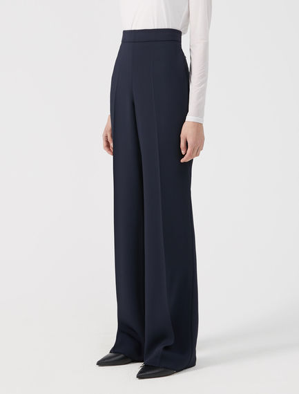 Pantaloni sartoriali in viscosa