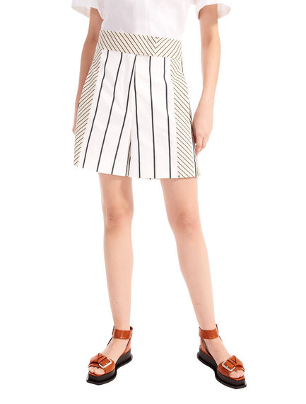 Striped Sporting Shorts Sportmax