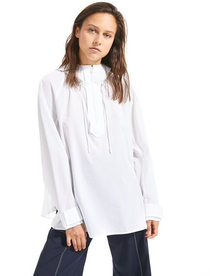 Hooded Poplin Shirt Sportmax