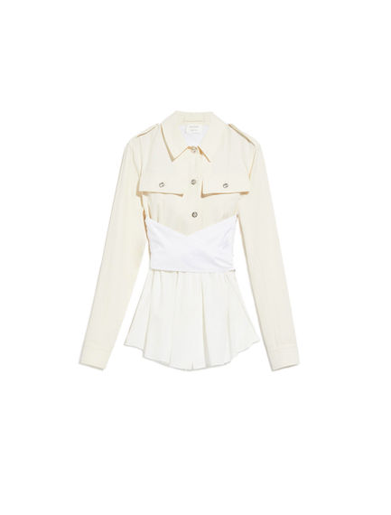 Silk & Cotton Shirt-Jacket