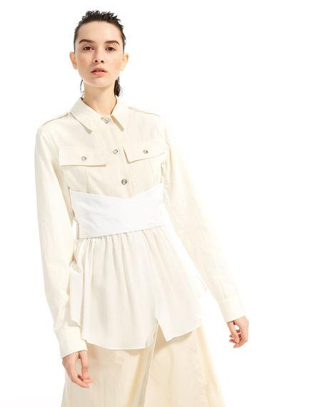 Silk & Cotton Shirt-Jacket Sportmax