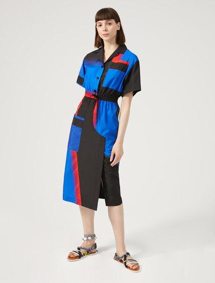 Block Colour Shirt Dress