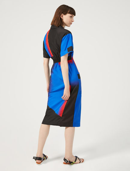 Block Colour Shirt Dress Sportmax