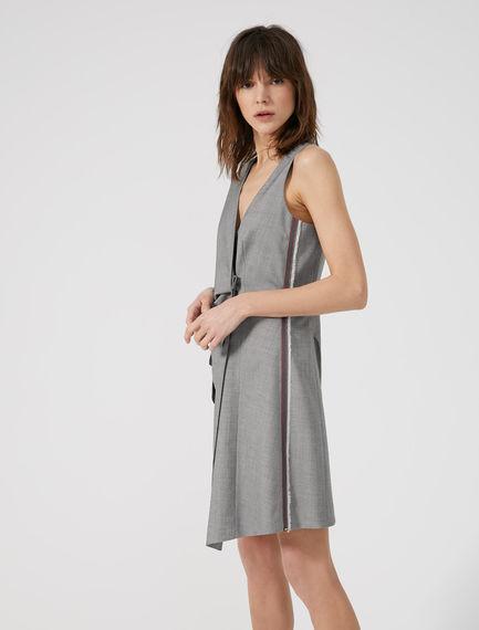 Pinstripe Waistcoat Dress Sportmax