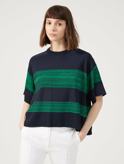 Striped Chiné Sweater Sportmax