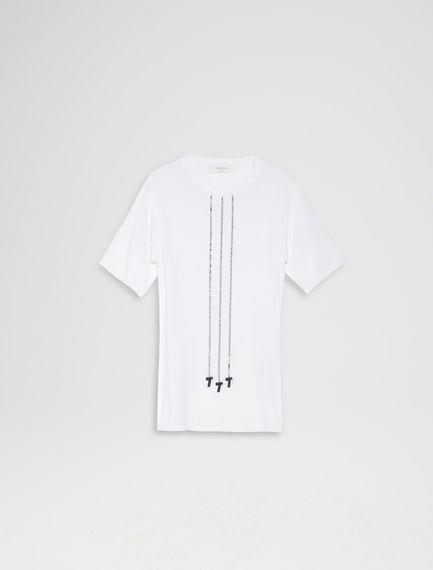 Cord Tie Viscose T-shirt