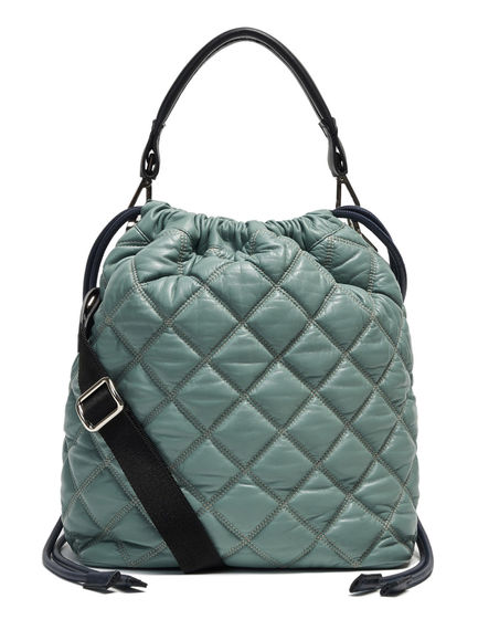 Quilted Leather Drawcord Bag Sportmax