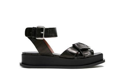 Sandalo platform con nodo Sportmax
