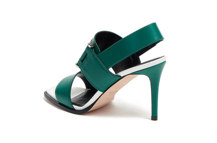 Multi-strap Stiletto Sandals