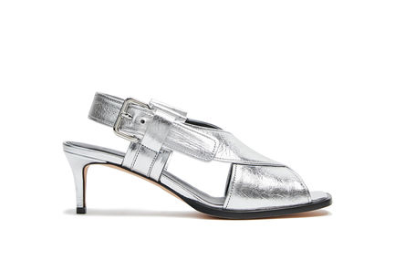 Laminated Leather Sandal Sportmax
