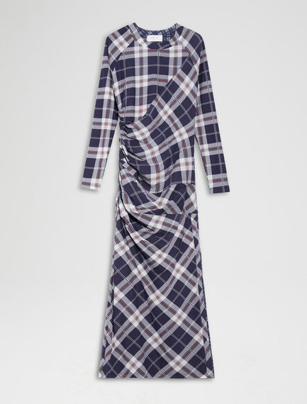 Reversible Check Dress