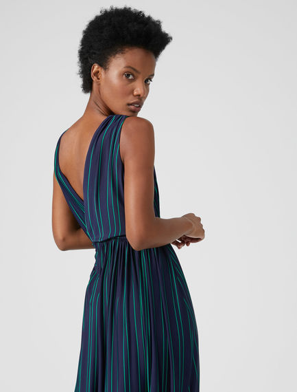 Draped Viscose Dress Sportmax