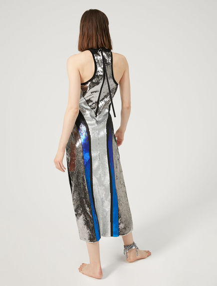 Sequin Halter-Neck Dress Sportmax